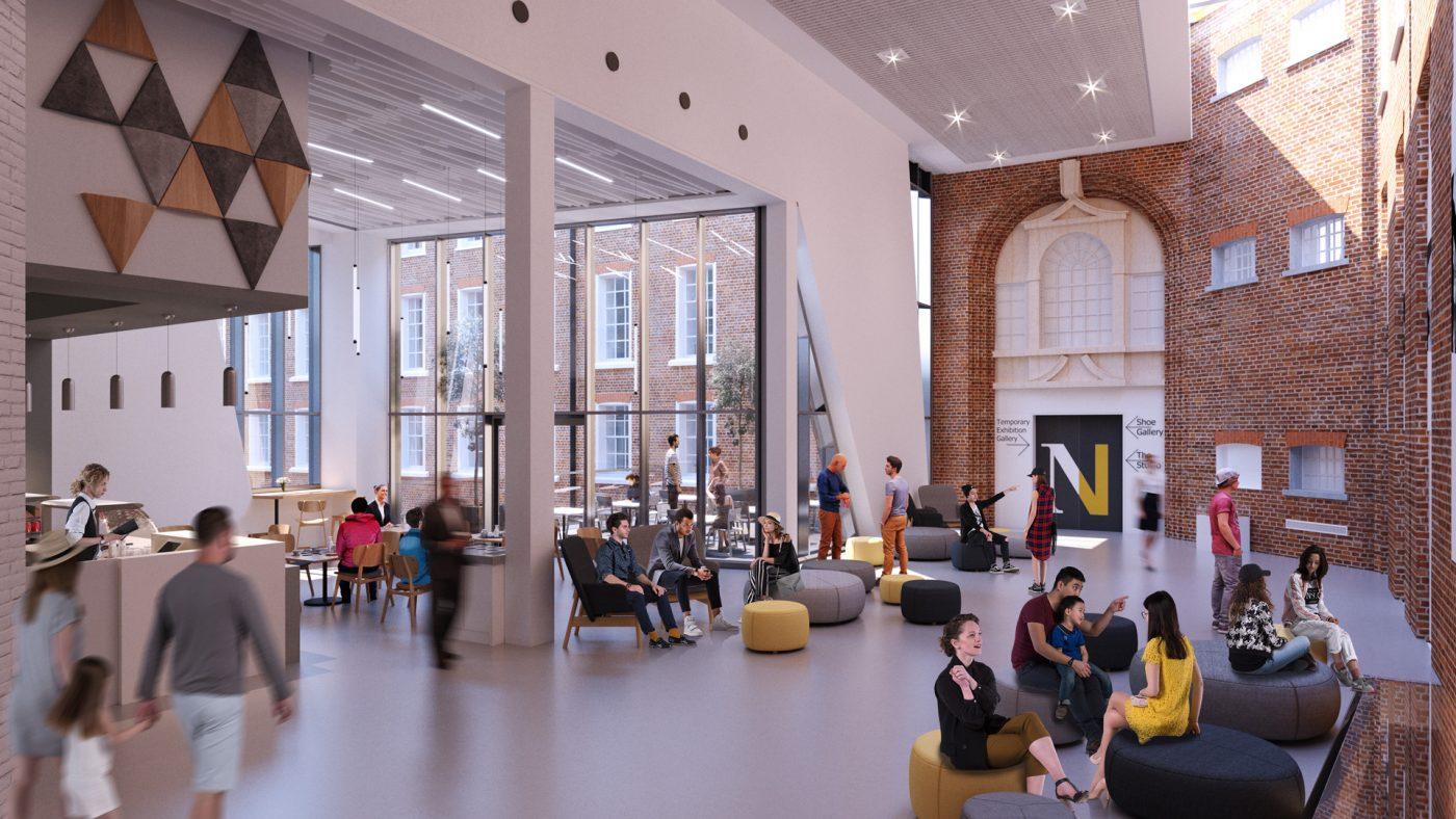 Northampton Museum & Art Gallery - Link Space Render